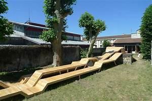 Le Bruit Du Frigo : mobilier urbain en bois le bruit du frigo bordeaux ~ Nature-et-papiers.com Idées de Décoration