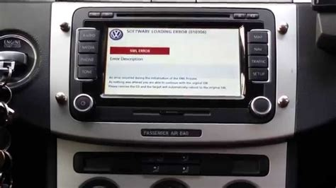 rns fw achtungattention firmware update swl