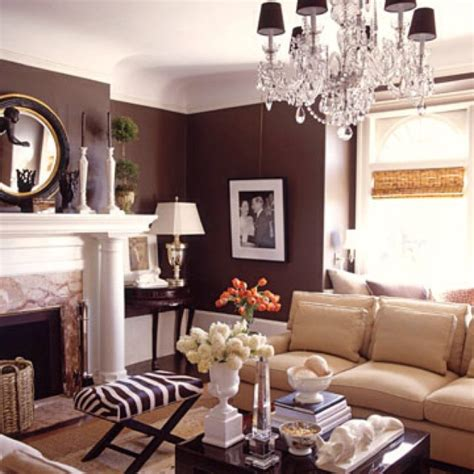 brown livingroom chocolate brown living room future home
