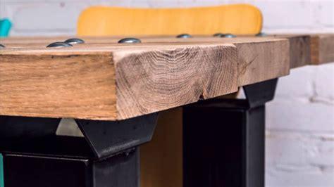 stoere robuuste eiken houten tafels op maat gemaakt youtube