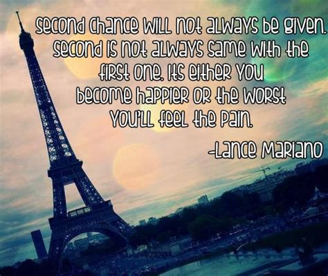 Second Chance Quotes Tagalog Tumblr