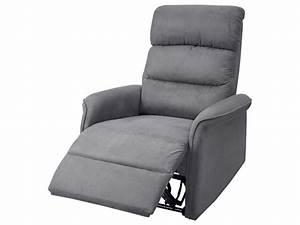 Fauteuil Gris Conforama : fauteuil relaxation manuelle eric en tissu coloris gris vente de tous les fauteuils conforama ~ Teatrodelosmanantiales.com Idées de Décoration