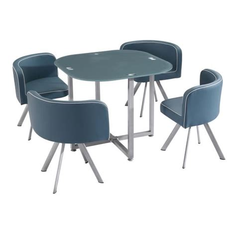 table et 4 chaises ensemble table a manger et chaise pas cher maison design