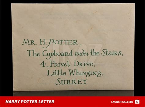harry potter letter gplusnick