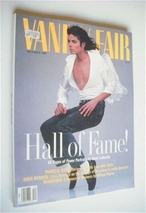 US Vanity Fair magazine - Michael Jackson cover (December ...