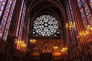 Sainte Chapelle Paris stock image. Image of church, light ...