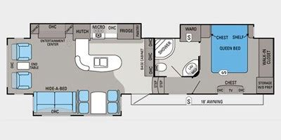 2012 Jayco 5th Wheel Floor Plans by 2012 Jayco Eagle Fifth Wheel Series M 351 Mkts Specs And