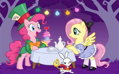 Plays Alices Adventures In Wonderland Flash Fun The Television Crossover Universe Oh, No, Not This: My Undersized Pony: Crossovers Are Magic