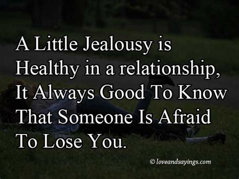 jealous quotes jealousy relationship  quote