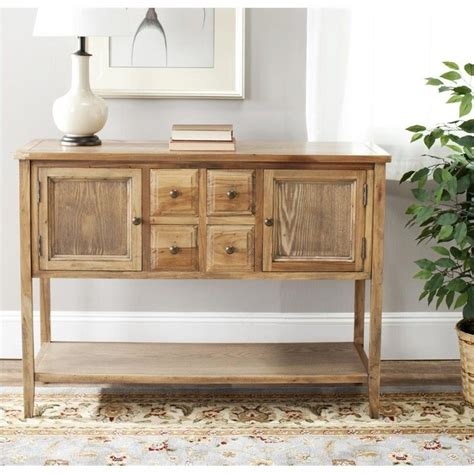 Safavieh Sideboard by Safavieh Charleston Sideboard In Oak Amh6517a