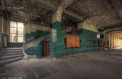 Creepy abandoned classrooms and dust-filled laboratories