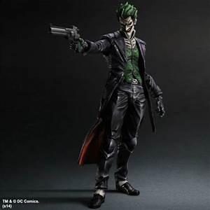 Play Arts Kai The Joker from Batman: Arkham Origins ...
