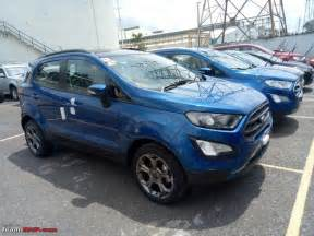 Ford Ecosport Titanium Business : 2017 ford ecosport facelift likely to be launched with sporty titanium s variant spied ~ Medecine-chirurgie-esthetiques.com Avis de Voitures