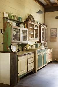 Vintage Cottage Style Kitchen images