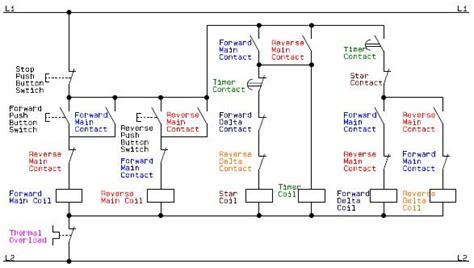 electrical schematic diagram   control circuit