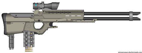 Mk V Heavy Gauss Sniper Rifle By Chris-b-chikin On Deviantart