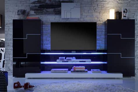 chambre york garcon meuble tv mural egizia a led laque blanc idées de