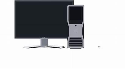 Pc Desktop Clipart Clip Computer Cliparts Vector