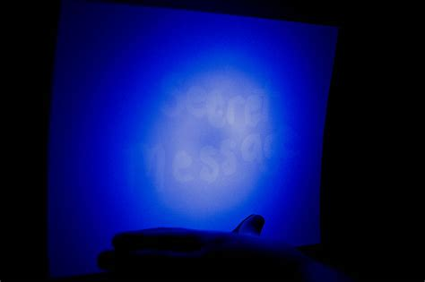 secret glowing message with invisible ink all for the boys