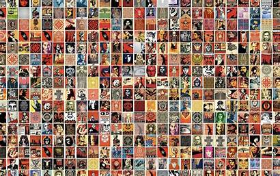 Obey Giant Collage Wallpapers Pop 1920 Backgrounds