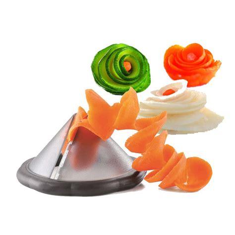 outil de cuisine creative gadgets de cuisine légumes spiralizer slicer