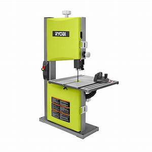Ryobi 2 5 Amp 9 in Band Saw in Green-BS904G - The Home Depot