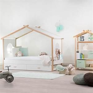 Cabane Lit Enfant : une chambre d 39 enfant esprit cabane pinterest le pastel pastel et esprit ~ Melissatoandfro.com Idées de Décoration