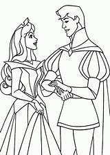 Coloring Sleeping Prince Philip Disney Aurora Princess Popular Template Coloringhome Clipart Results sketch template