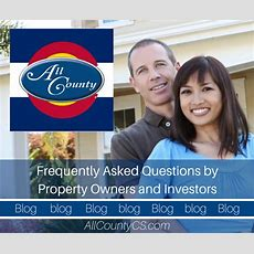Frequently Asked Questions By Property Owners And Investors  All County Property Management