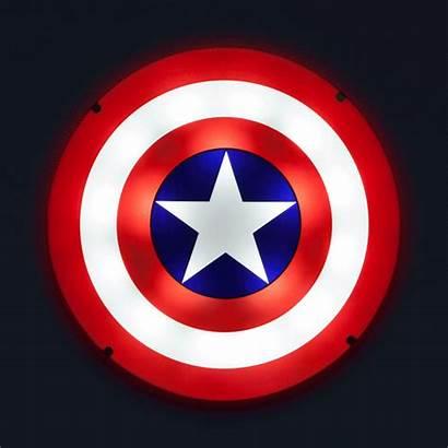 Captain Shield America Wall Sound Word Geekalerts