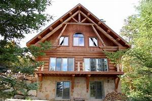 Maison Rondin Bois : la maison en rondins de bois infos sur la maison en bois ~ Melissatoandfro.com Idées de Décoration