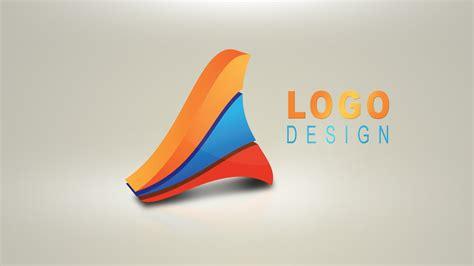 3d logo design illustrator photoshop