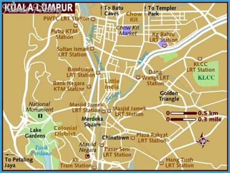 kuala lumpur map tourist attractions travelsfinderscom