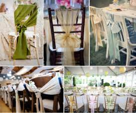 chair bows for weddings wedding chair decor ideas simply peachy event design