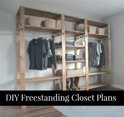 free standing wardrobe closet plans winda 7 furniture