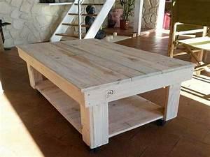 Table En Palette : 17 id es pour fabriquer une table basse palette deco cool ~ Melissatoandfro.com Idées de Décoration