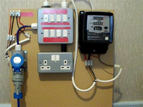 Electric Boat Pay Grades by Electricity Meter 1 Of 2 Metering Board Demo