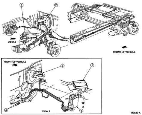 brake  diagram    windstar