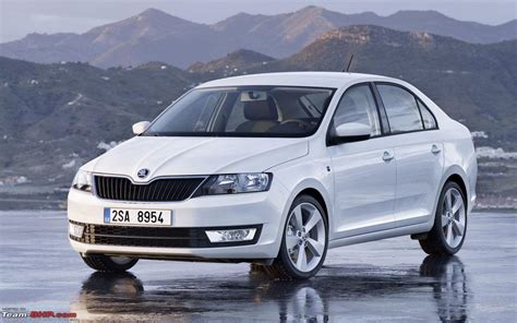 European Skoda Rapid Spotted; All new car based on Mission ...