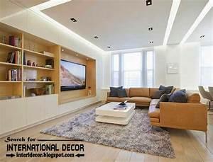 15 modern pop false ceiling designs ideas 2015 for living room With modern living room ceiling design