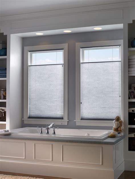 creative window treatment inspiration   bathroom