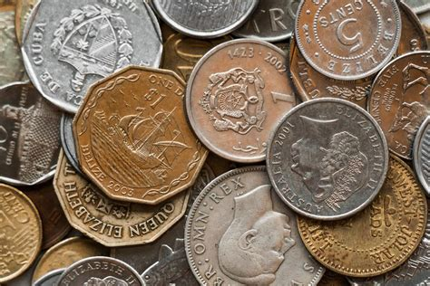 Picture Of World Coins  Free Stock Photo