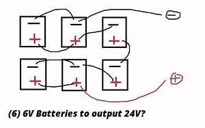 6  6v Batteries To Make 24v