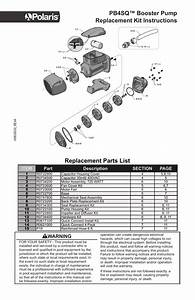 Pb4sq Booster Pump Replacement Kit Instructions