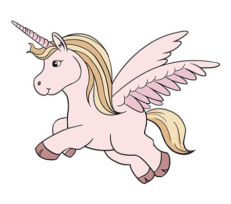 draw  cute unicorn    easy steps easy
