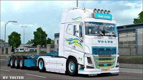 volvo trailer truck truck trailer volvo fh frans kuiper v1 0 ets 2 mods