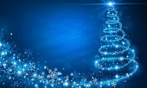 christmas blue wallpaper hd  desktop