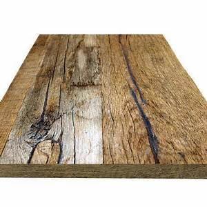Plateau De Table : table vieux bois plateau et table vieux chene sur mesure bois ancien belgique ~ Teatrodelosmanantiales.com Idées de Décoration