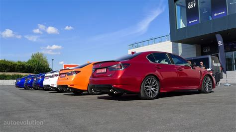 lexus gsf red 2016 lexus gs f review autoevolution
