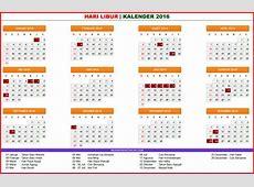 Kalender Masehi 2016 Beserta Hari Libur Hari Libur S